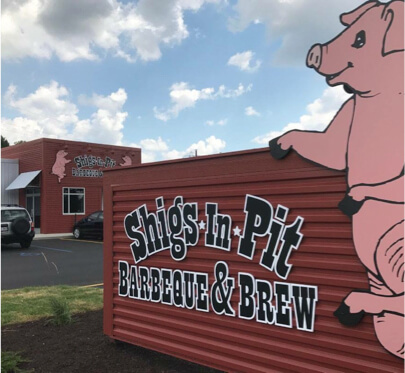Shigs In Pit BBQ & Brew - Maplecrest