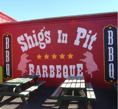 Shigs In Pit BBQ - Fairfield Ave